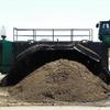 Chamness Technology's ALLU compost turner.